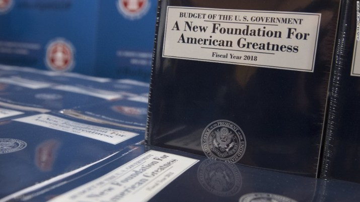 Here's what's in Trump's budget