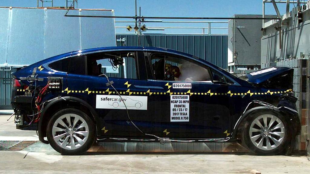 Teslas Model X is the safest SUV ever tested