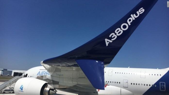 airbus a380 plus winglet