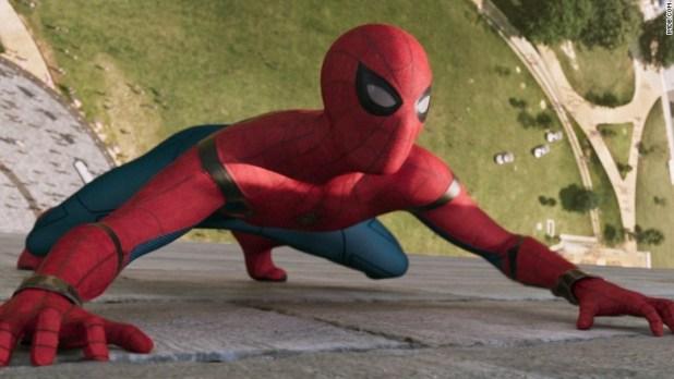 spiderman homecoming wall