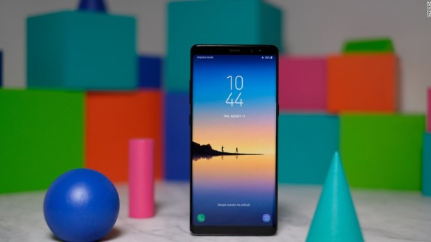 Samsung unveils the hopefully non-combustible Galaxy Note 8