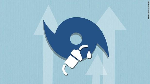 hurricane harvey gas prices