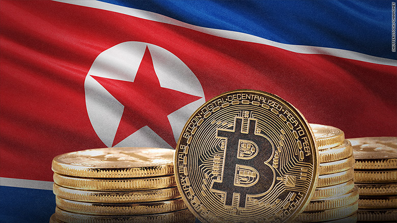 North Korea is trying to amass a bitcoin war chest