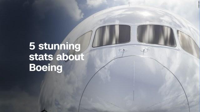 """5 impresionantes estadísticas sobre Boeing """"border ="""" 0"""