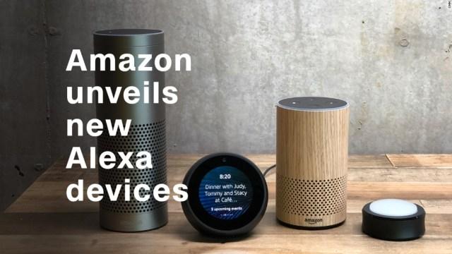 Amazon unveils new Alexa devices