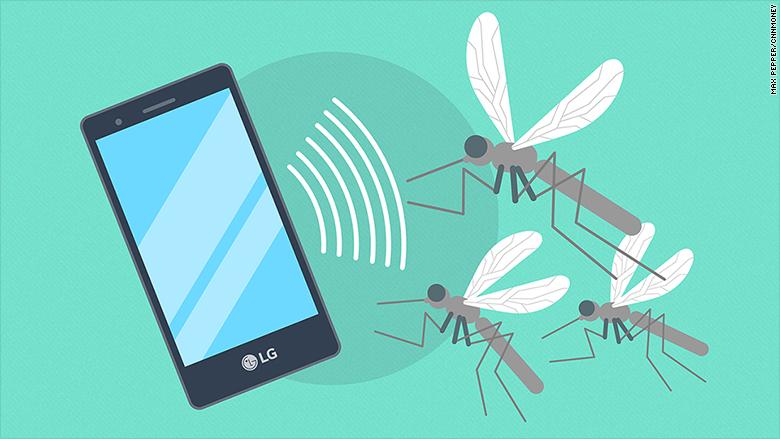 mosquito repellent smartphone