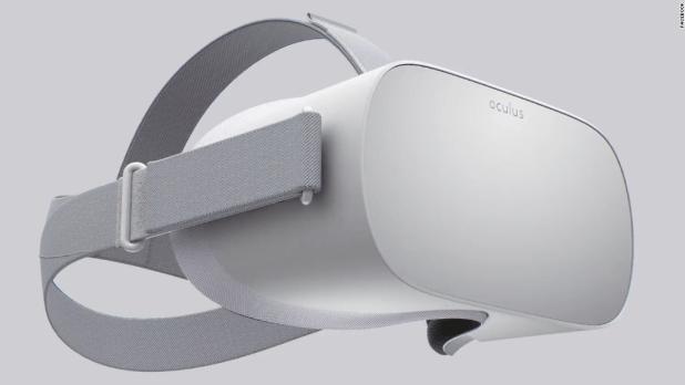 Facebook unveils standalone VR headset, Oculus Go