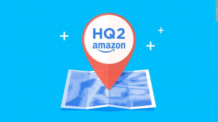 Cities woo Amazon to become second HQ