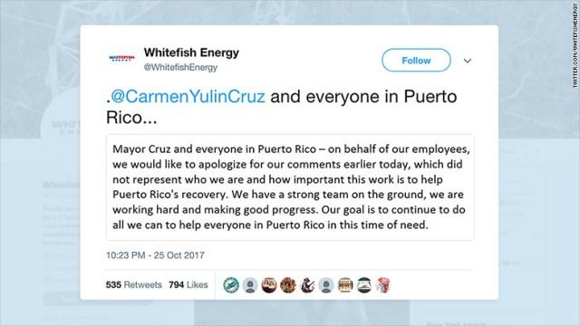 whitefish energy tweet