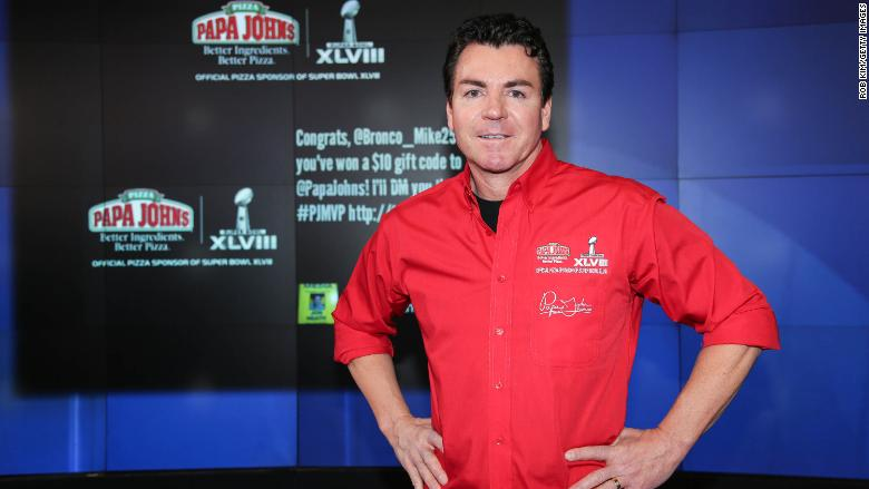 Image result for The papa of Papa John's is leaving the CEO seat