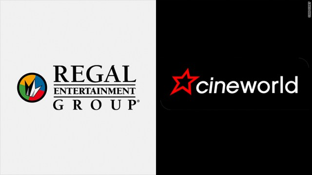 Image result for Cineworld to buy Regal cinemas in blockbuster deal