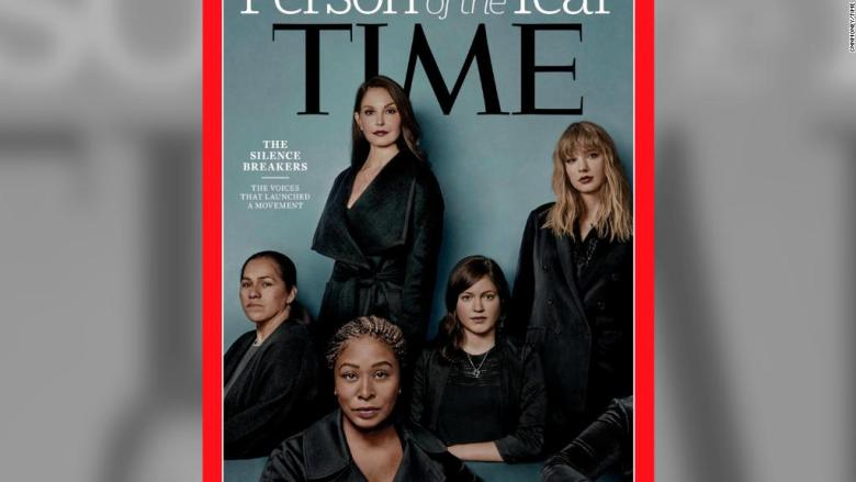 Time Person of the Year 2017: 'The Silence Breakers'