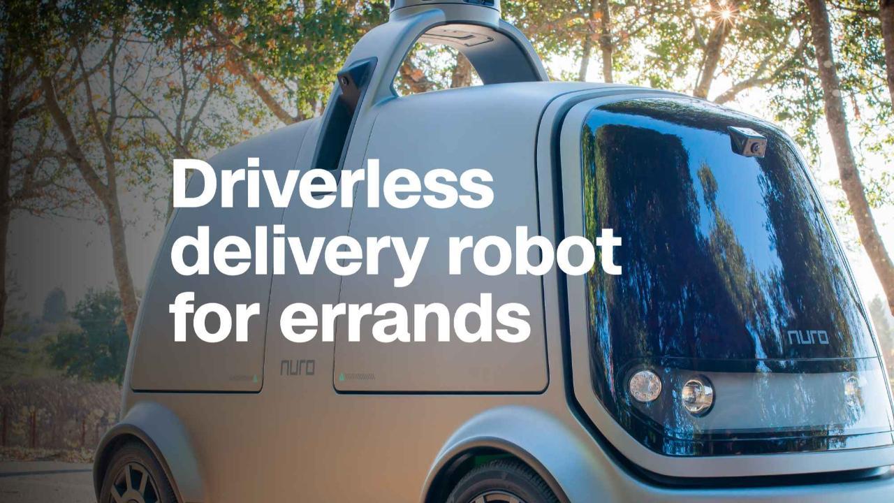 Ex Googlers Make Delivery Robot For Errands Video