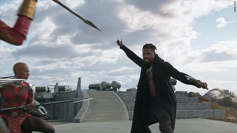 Image result for 'Black Panther' brings in a record-breaking box office weekend
