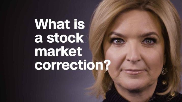 What is a stock market correction?