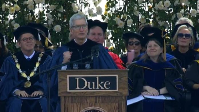 Tim Cook: 'No generation has ever had more power than yours'