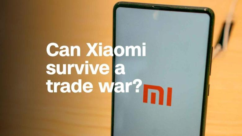 Can the Chinese smartphone giant Xiaomi survive a trade war?