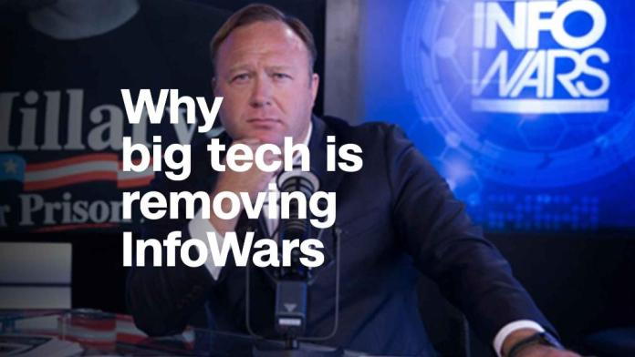 Why Facebook,YouTube and Apple are removing InfoWars content
