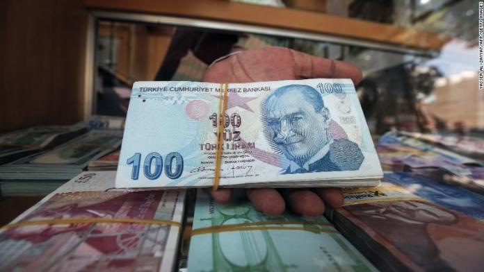 turkey lira notes kuwait