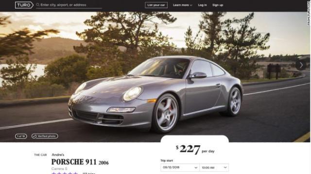 Porsche 911 Turo
