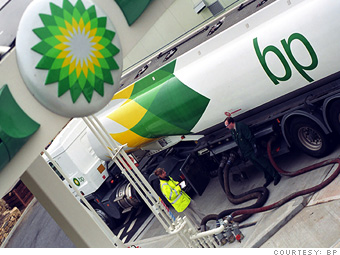 BP took over two big American oil companies in the 1990's, ARCO and AMOCO which gives BP access to many U.S. oil fields and refineries.
