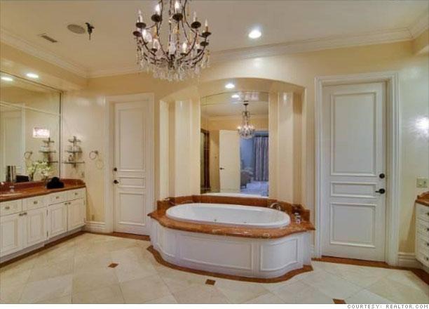 Tori Spellings home for sale  Master bath 8  CNNMoneycom