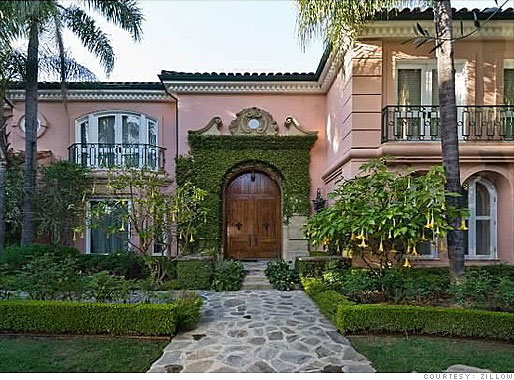 Christina Aguilera's Pink Palace for Sale