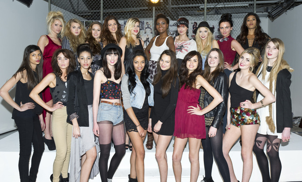 Britain's Next Top Model 2012 - The 20 contestants