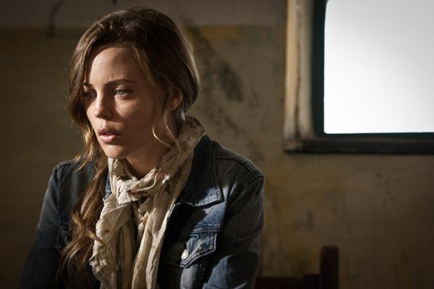 Melissa George as Sam Hunter in 'Hunted'