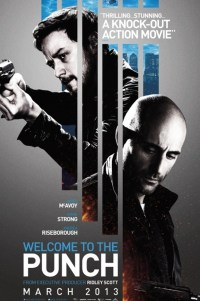 Poster for 2013 crime thriller Welcome to the Punch