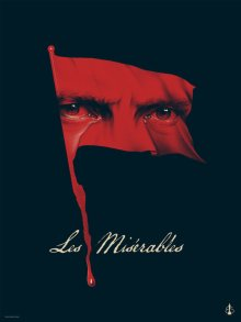 Phantom City Creative's artwork based on 2013 Oscars movie Les Misérables