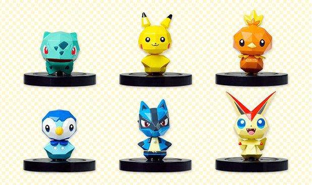 Pokemon Rumble U Figures