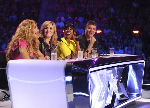 'X Factor' USA season 3 judges: Paulina Rubio, Demi Lovato, Kelly Rowland, Simon Cowell