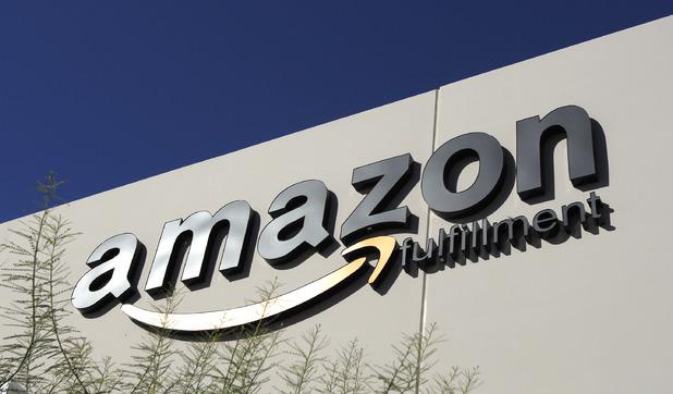 Amazon building front
