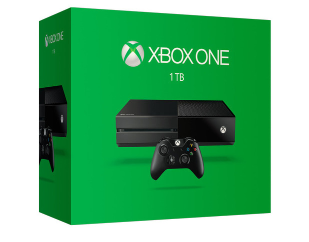 1TB Xbox One Console And New Controller Available Now