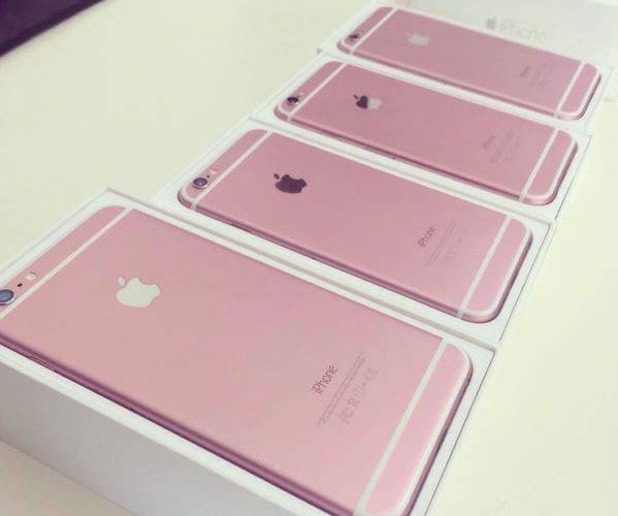 Pink iPhone 6S leak