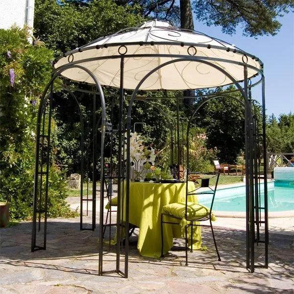 Tonnelle De Jardin Toile Coulissante - Décoration de maison idées de ...