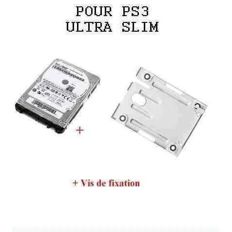 Disque Dur 1000 Go + Support Disque Dur Pour Playstation