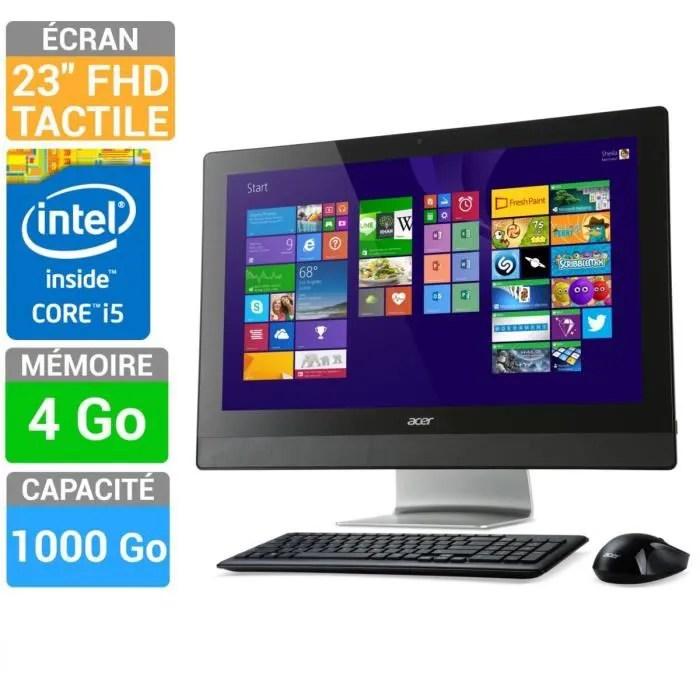 Acer PC Tout En Un Tactile Aspire Z3 615 007 Prix Pas