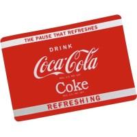 Set de Table Coca Cola Coke Pub Vintage USA Rouge - Achat ...