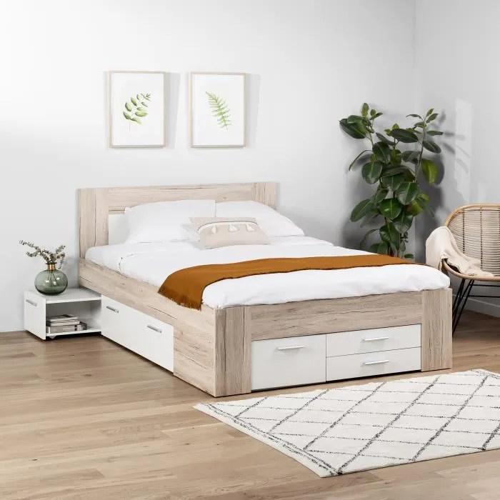 lit avec rangement adulte venus et judes