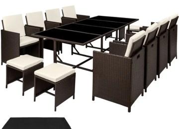 Salon De Jardin Table Sonata | Table De Jardin Aluminium Bricolage ...