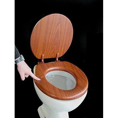 Sige de toilette rembourr couleur chne  Achat  Vente wc  toilettes Sige de toilette