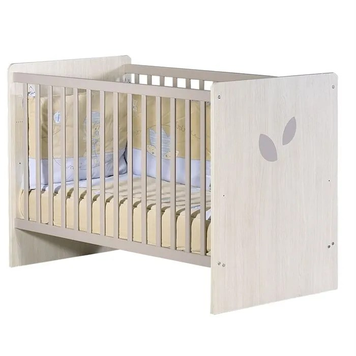 SAUTHON ON LINE Lit Bb 120x60 Frne Taupe  Achat  Vente lit bb 3500760044131  Cdiscount