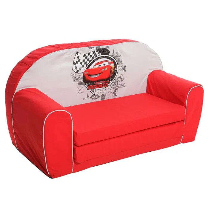 CARS Canap Mousse  Sofa  Disney baby Rouge  Achat  Vente fauteuil  canap bb