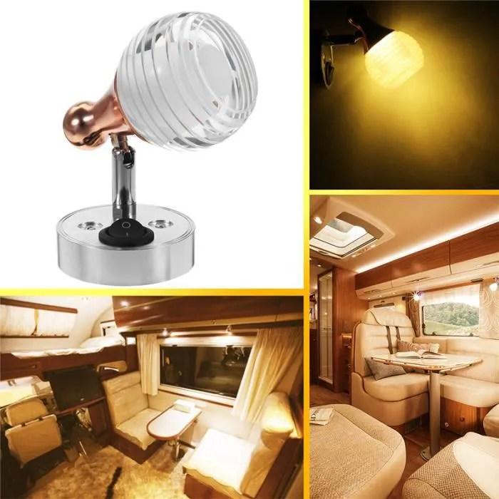 eclairage interieur caravane