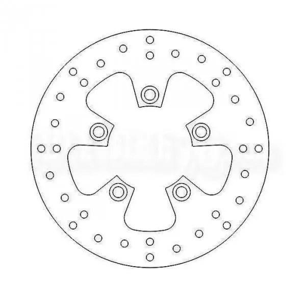 Disque de frein Avant PIAGGIO VESPA LX 50 4T 4V 2009 a
