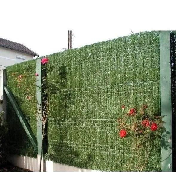 Haie artificielle permanente en brins 18m x 152m ECG  Achat  Vente haie de jardin La Haie