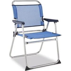 chaise de camping eredu chaise camping marine 990 tx aluminium et