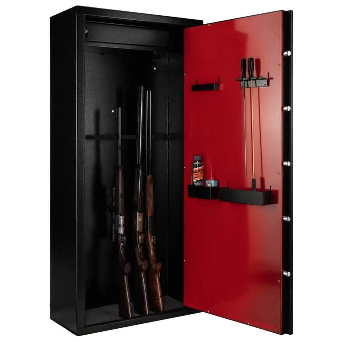 armoire forte first 12 armes noir